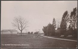 The Recreation Grounds, Camborne, Cornwall, 1913 - Meeksown RP Postcard - England