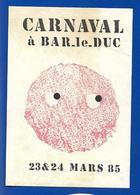 A.C 85 CARNAVAL à BAR LE DUC - Stickers