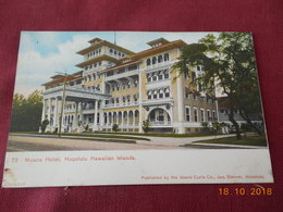 CPA - Honolulu - Moana Hotel - Honolulu