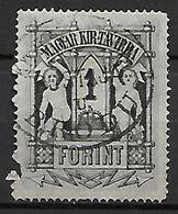 HONGRIE   -   Timbres - Télégraphe.   1874  .  Y&T N° 15 Oblitéré - Télégraphes