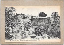 NIMES - 30 -  Le Temple De Diane  Coté Méridional - DELC3 - - Nîmes