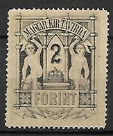 HONGRIE   -   Timbres - Télégraphe.   1874  .  Y&T N° 16 * - Télégraphes