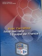 Album Collecteur Images Vignettes Cartes - CARREFOUR - Foot France - 2010 - Complet - Sport