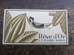 Carte Parfumée L.T. Pivier Parfumé Le Mondeentier - Cartes Parfumées