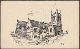 Marshall Barnes - Farnham Parish Church, Surrey, C.1960s - Pullinger Postcard - Surrey