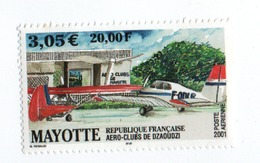 MP9L1 Mayotte Neufs ** 2001 Aéroclub De Dzaoudzi PA 5 - Luftpost