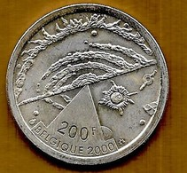200 Francs Argent Albert I 2000 Belgique - 1993-...: Albert II
