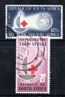 T1716 - SUD AFRICA SOUTH 1963,   Serie Yvert N. 275/276  Usato . Croce Rossa - Sud Africa (1961-...)