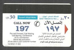 USED PHONECARD QATAR - Qatar