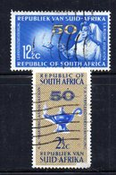 T1738 - SUD AFRICA SOUTH 1964,   Serie Yvert N. 292/293  Usato . Infermiere - Sud Africa (1961-...)