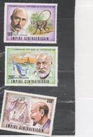CENTRAFRIQUE - Prix Nobel De Litérature : Richard KIpling (1907), HEMMINGWAY (1954), PIRANDELLO (1934) - Central African Republic