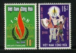 VIETNAM  DU  SUD ( POSTE ) : Y&T  N°  339/340  TIMBRES  NEUFS  SANS  TRACE  DE  CHARNIERE  . - Vietnam