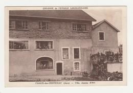Chaux-des-Crotenay.39.Jura.Colonie De L'Etoile Louhannaise.Villa Jeanne D'Arc. - Altri Comuni