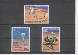 CENTRAFRIQUE - Espace - Opération Viking Sur Mars - U.S.A. - Central African Republic
