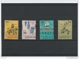 1968 - YT N° 504/507 NEUF SANS CHARNIERE ** (MNH) GOMME D'ORIGINE LUXE PAS COURANT - Korea, South