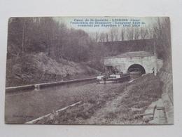 Canal Du St-Quentin - LESDINS Construit Par Napoléon ( Brazier Photo ) Anno 19?? ( Zie/voir Photo ) ! - Saint Quentin