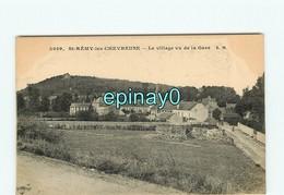 78 - SAINT REMY LES CHEVREUSES  - VENTE à PRIX FIXE - Le Village Vu De La Gare - St.-Rémy-lès-Chevreuse