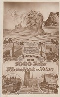 AK Erinnerung An Die 1000 Jahr Rheinland-Feier Gel. SST Ansehen !!!!!!!!!! - Deutschland