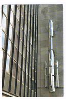 Fiche Format Carte Postale Moderne - NAMUR Sculpture Silver Rocket à La Maison De La Culture , Frédéric Platéus 2011 - Schede Didattiche