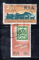 T1807 - SUD AFRICA SOUTH 1969,   Yvert  N. 322/323  Usato . - Sud Africa (1961-...)