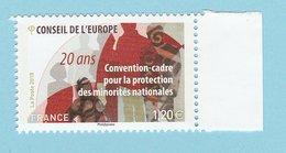 France 2018 - Neuf - Conseil De L'Europe (1,20€ X 1) - Neufs