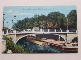 Pont Et Ecluse De La Barre LILLE ( 43 - Vve E. Cailteux-Gorlier ) Anno 19?? ( Zie/voir Photo ) ! - Lille
