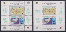 2378 Europa CEPT  Kuzey Kibris  50 Th Anniversary Of The First EUROPA Issue  Perf + Imperf . - Autres - Europe