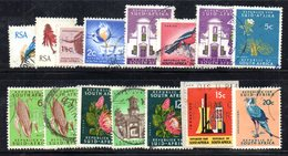 T2293a - SUD AFRICA SOUTH 1969, Ordinaria  Yvert  N. 323A/323Q  Usato . - Sud Africa (1961-...)