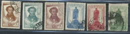 USSR 1937 Michel 549A-554A. Perf 12 1/2:12 1/2 Death Centenary Of A. S. Pushkin. Used - Usados
