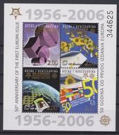 2381 Europa CEPT  Bosniê Herzegovina  50 Th Anniversary Of The First EUROPA Issue   Perf . - Bosnie-Herzegovine
