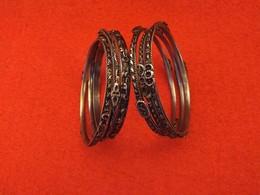 Ensemble 6 Bracelets Ancien De Bonne Qualité - Bracelets