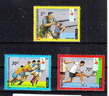 Nuova Caledonia - 2003. Giochi Sud Pacifico. Tiro, (Skeet Shooting ), Rugby, Tennis Complete MNH Set - Tiro (armi)