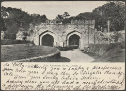 The Kashmiri Gate, Delhi, 1903 - U/B Postcard - Sea Post Office - India