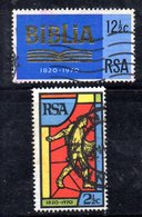 T2284 - SUD AFRICA SOUTH 1970, Serie  Yvert  N. 326/327  Usato . - Sud Africa (1961-...)