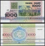 Belarus P 11 - 1000 1.000 Rublei 1992 - UNC - Bielorussia