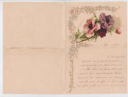 Catharina Klein - Fleurs - Carte-lettre 4 Volets - Klein, Catharina