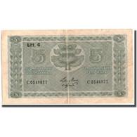 Billet, Finlande, 5 Markkaa, 1922, KM:61a, TB+ - Finlande