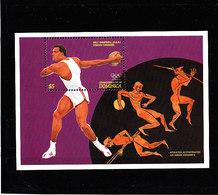 Olympics 1996 - History - DOMINICA - S/S MNH - Estate 1996: Atlanta