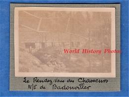 Photo Ancienne D'un Poilu - Nord Est De BADONVILLER ( Vosges ) - Le Rendez Vous Des Chasseurs - 1916 1917 Ww1 Front - War, Military