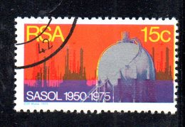 T2244 - SUD AFRICA SOUTH 1975, Serie  Yvert  N. 380  Usato . Carbone - Sud Africa (1961-...)