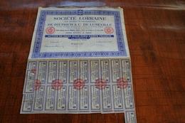 SOCIETE LORRAINE De Dietrich & Cie De Luneville - Actions & Titres