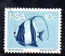 T2234 - SUD AFRICA SOUTH 1974, Serie  Yvert  N. 378  Usato . Roulette - Sud Africa (1961-...)