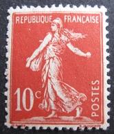 R1692/83 - 1906 - TYPE SEMEUSE N°134 NEUF** - 1906-38 Semeuse Camée