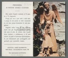 ES5225 ANGELO CUSTODE PREGHIERA ISTITUTO GESU SACERDOTE ROMA APRIBILE Santino - Religione & Esoterismo