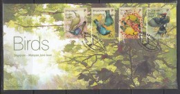 Singapore 2002 Joint Issue With Malaysia, Birds FDC - Birds