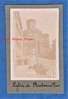 Photo Ancienne D'un Poilu - BADONVILLER ( Vosges ) - Rue Vers L' Eglise - 1916 1917 Ww1 Front - Guerre, Militaire
