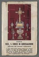 ES5229 BASILICA SANTA CROCE IN GERUSALEMME DICRETO Santino - Religione & Esoterismo