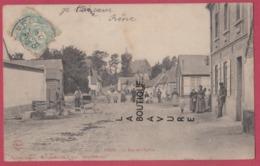 80 -VRON----La Rue De L'Eglise----animé - Other Municipalities