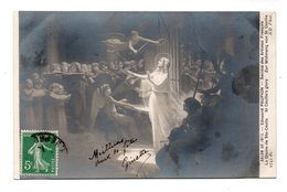 "ART . TABLEAU . ÉDOUARD PAUPION . "" LA GLOIRE DE SAINTE-CÉCILE "" . SALON DE 1913 - Réf. N°18992 - - Pittura & Quadri"