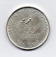 Ungheria - 1967 - 50 Forint - Argento - Vedi Foto -  (MW1604) - Hungary